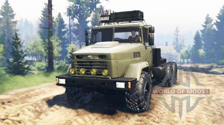 KrAZ-6322 v2.0 for Spin Tires