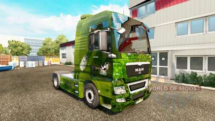 Skin Die Milch machts for the tractor MAN for Euro Truck Simulator 2