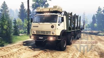 KamAZ-63501-996 Mustang v2.0 for Spin Tires