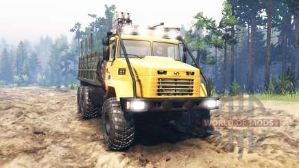 KrAZ-6322 USSR for Spin Tires