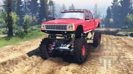 Jeep Grand Cherokee Comanche 4x4 v2.0 for Spin Tires