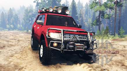 Mitsubishi Pajero 2006 for Spin Tires