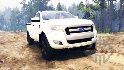 Ford Ranger 2016 for Spin Tires