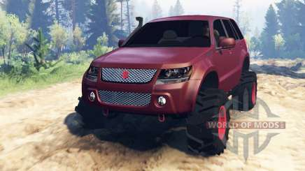 Suzuki Grand Vitara 2007 v2.0 for Spin Tires