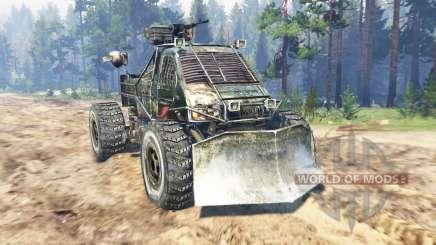 GAZ-3302 [Metro 2033] for Spin Tires