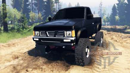Nissan Hardbody Standard Cab (D21) 1993 v2.0 for Spin Tires