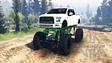 Ford F-150 [zombie edition] v2.0 for Spin Tires
