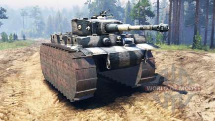 Panzerkampfwagen VI Tiger for Spin Tires