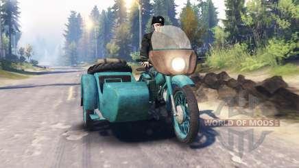 Ural M-62 v2.0 for Spin Tires
