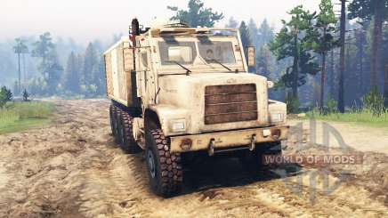 Oshkosh MTVR 8x8 for Spin Tires