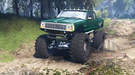 Jeep Grand Cherokee Comanche 4x4 v3.0 for Spin Tires