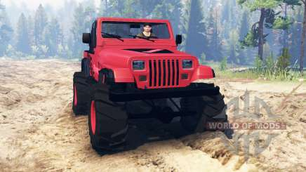 Jeep Wrangler (YJ) for Spin Tires