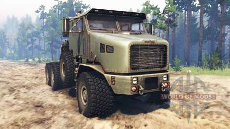 Oshkosh M1070 HET v2.0 for Spin Tires