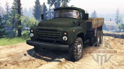 ZIL-130 6x6 v2.0 for Spin Tires