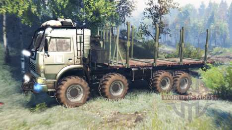 KamAZ-6560 [Muromets] v6.0 for Spin Tires
