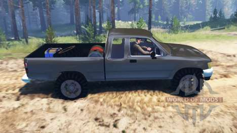 Toyota Hilux Xtra Cab 1993 for Spin Tires