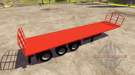 The Trailer Agroliner 40 for Farming Simulator 2013