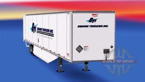 Trailer Wabash for American Truck Simulator