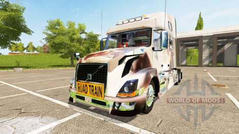 Volvo VNL 780 Pernille Holmboe for Farming Simulator 2017