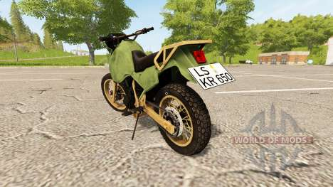 Kawasaki KR650 for Farming Simulator 2017