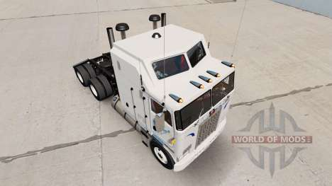Walmart skin for Kenworth K100 truck for American Truck Simulator