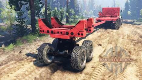KrAZ-63221 v2.0 for Spin Tires