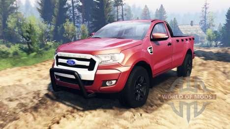 Ford Ranger 2016 v2.0 for Spin Tires