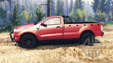 Ford Ranger 2016 v2.0 for Spin Tires