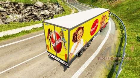 Narko Semi-Trailer Sinalco for Euro Truck Simulator 2