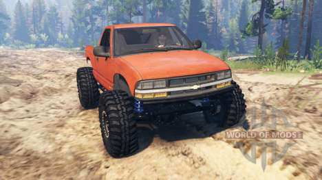Chevrolet S-10 Crawler for Spin Tires