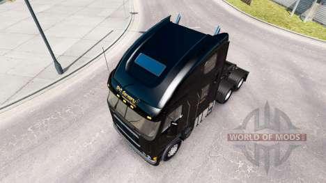Skin ShR Germany on the truck Freightliner Argos for American Truck Simulator