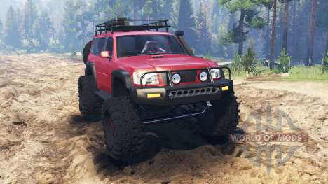 Nissan Patrol for Spin Tires