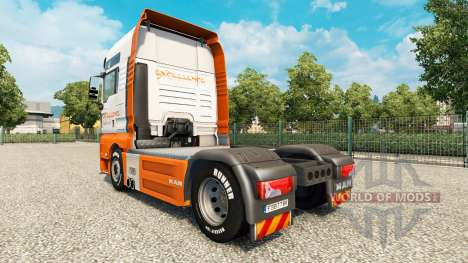 Excellence Transportes skin for MAN truck for Euro Truck Simulator 2