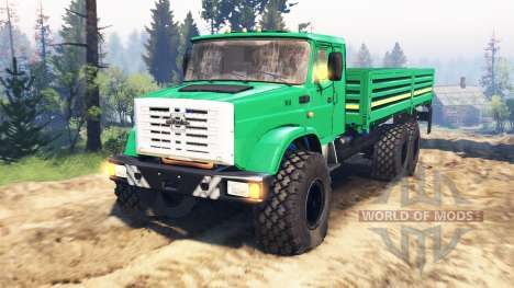 ZIL-433440 [euros] v2.0 for Spin Tires