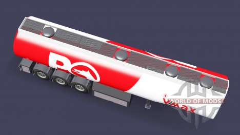 Fuel semi-trailer Petrol Ofisi for Euro Truck Simulator 2