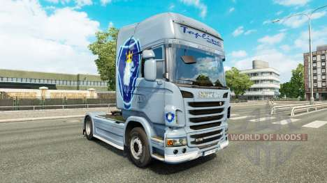 Simply skin for Scania truck for Euro Truck Simulator 2