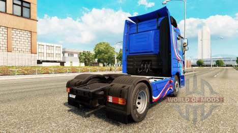 Skin Blue Edition tractor unit Mercedes-Benz for Euro Truck Simulator 2