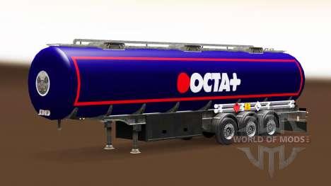 Skin Octa fuel semi-trailer for Euro Truck Simulator 2