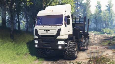 The Yamal-6 v3.0 for Spin Tires