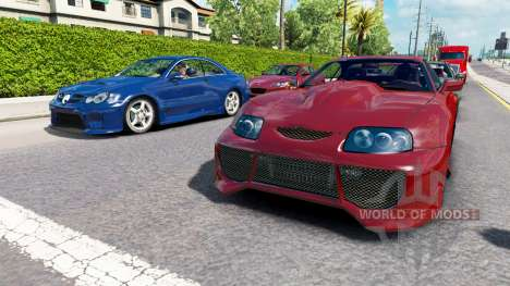 Traffic NFS Most Wanted v2.0 for American Truck Simulator