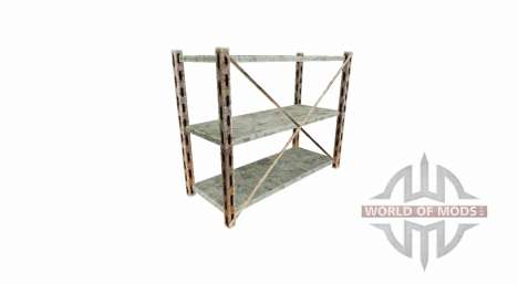 Warehouse rack for Farming Simulator 2017