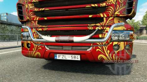 Bull horns for Euro Truck Simulator 2