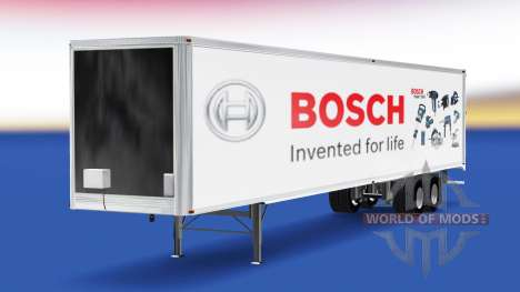 Skin Bosch on the trailer for American Truck Simulator