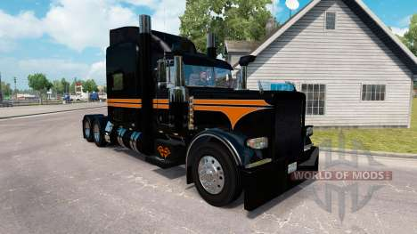 Skin SRS National for the truck Peterbilt 389 for American Truck Simulator