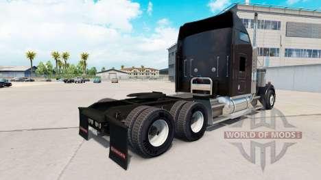 Skin Gallon Oil truck Kenworth W900 for American Truck Simulator