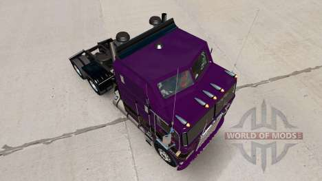 Conrad Shada skin for Kenworth K100 truck for American Truck Simulator