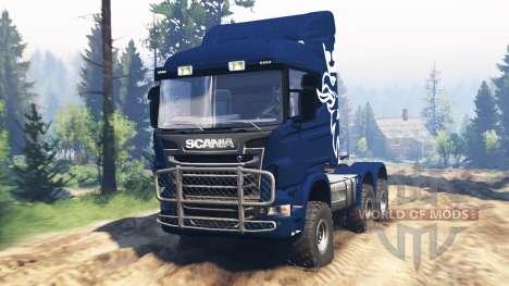 Scania R730 v2.0 for Spin Tires