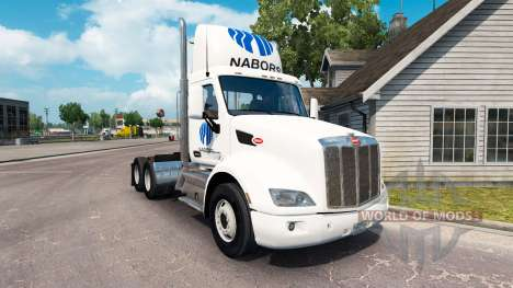 Nabors skin for the truck Peterbilt for American Truck Simulator
