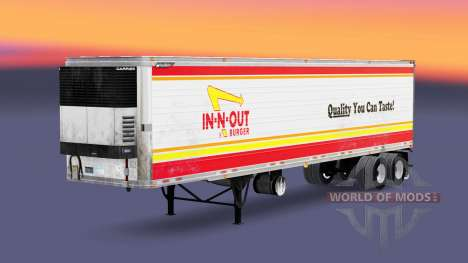 Skin IN-N-OUT for semi-refrigerated for American Truck Simulator