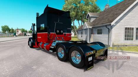 Skin Bert Matter Inc. for the truck Peterbilt 38 for American Truck Simulator